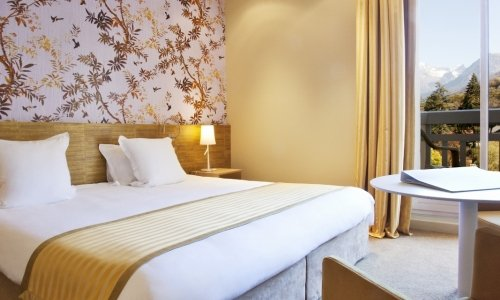 Deluxe Double Rooms at the Grand Hotel des Thermes